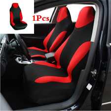Car Seat Cover Polyester Fabric Front Seat Protector Interior Easy to Install x1