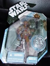 """2007  STAR WARS. R.M"""" QUARRIE. CHEWBACCA  with COLLECTOR COIN"""