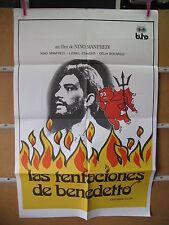 A3917 Las tentaciones de Benedetto Nino Manfredi,  Lionel Stander,  Delia Boccar