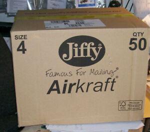 JIFFY AIRCRAFT PADDED PAG SIZE 4  internal size 240x320 mm   BOX of 50