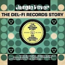Jungle Fever Del-Fi Records Story 2-CD NEW SEALED Ritchie Valens/Bobby Curtola+