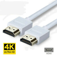 1.2m Premium HDMI Cable v2.0 High Speed HDTV UHD 18Gbps 2160p 4K@60hz White