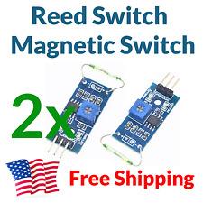 2pcs Magnetic Reed Switch Sensor Module Board Shield for Arduino FREE USA SHIP