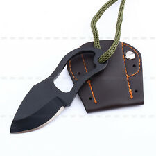 EDC Pocket Tool Finger Paw Self-Defence Survival Fishing Neck Knife With Sheath