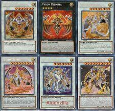 Yugioh Vylon Fairy Deck - Disigma Epsilon Delta Omega Alpha Sigma Cube Charger
