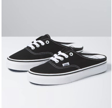 Vans Authentic Mule Black True White Without the Box Free Shipping