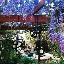 Metal Hanging Orb Candle Holder Cages Set of 3 Garden Decor