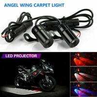Motorrad LED Engelsflügel Willkommen Licht Logo Lampen Auto Tür Projektor Lampe