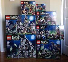 Lego Monster Fighters NEW HTF 7 RETIRED  9468 10228 9462 9463 9464 9466 9467