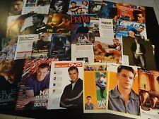 Matt Damon   150+ full pages   Clippings