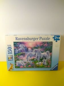 Ravensburger Unicorns in the Sunset Glow 150 XXL Piece Jigsaw Puzzle 2016