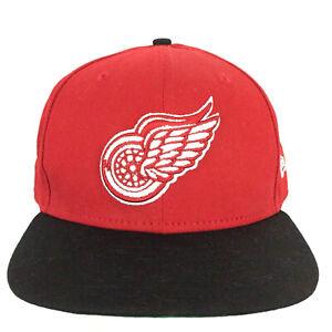 Detroit Red Wings Cap Logo New Era 9Fifty Snap Back NHL Hockey Baseball Dad Hat
