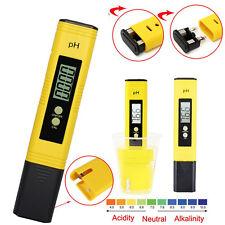 Probador Calidad Agua Digital Medidor de Pureza PH/TDS/EC Pluma de prueba Tester