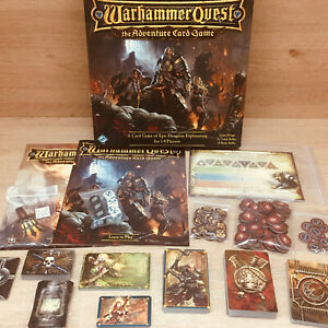 Warhammer Quest Adventure Card Game Fantasy Flight Games 2015 - Out Of Print!