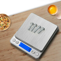 1000gx0.1g Electronic Digital Kitchen Food Cooking Weight Balance Scale Accurate