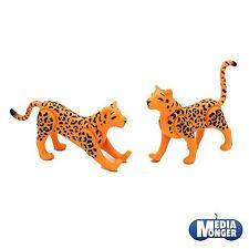 PLAYMOBIL SAFARI África OAMBATI ZOO: 1x Guepardo Leopardo PAREJA V2