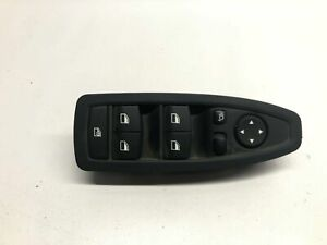 BMW 3 F30 Front Left Door Window Switches With Power Fold Button 9362107 2012