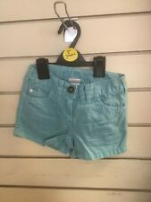 Girls Blue Next Cotton Shorts Size 5 Years Brand New Genuine Free Postage