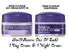 AVON ANEW PLATINUM DAY CREAM ~ PLUS PLATINUM NIGHT CREAM (1 EA.) NEW!!