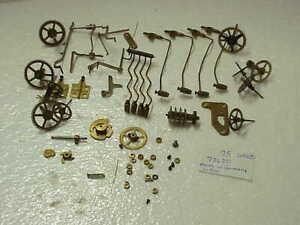 Vintage Used 75 Urgos Clock Movement Parts parts repair A