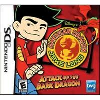 American Dragon: Jake Long Attack of the Dark Dragon Nintendo DS Game Used