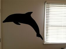Huge Dolphin Ocean Beach Water Animal Vinyl Wall Art Removable Decal Sticker