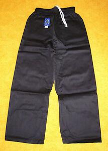 Hose für Kung Fu, schwarz, verschiedene Größen lieferbar