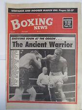 Boxing News 2 Aug 1991 Andries Harding Crawrord Skelton Michael Moore Whitaker,