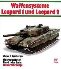 Waffensysteme Leopard 1 & 2 Kampfpanzer Varianten Arten Brückenlegepanzer engl.!