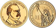 USA: 1 Dolar 2012 D - 24º. Presidente Grover Cleveland (1893 - 1897)  S/C