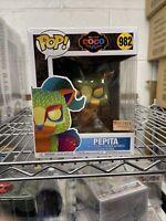Funko Pop! Disney Coco Pepita Glow In The Dark BoxLunch Exclusive 6 Inch In Hand