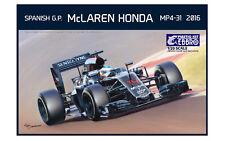 McLaren Honda MP4-31 2016 Spain GP 1/20 Modellbausatz Ebbro 20018