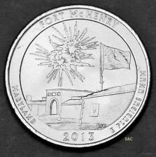 2013 - D, Fort McHENRY , Maryland - Uncirculated Clad America the Beautiful