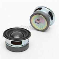 2Pcs 4Ohm 3W 40MM Acoustic Speaker 36MM Magnetic Audio Stereo Loudspeaker Black