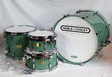 Noble & Cooley CD Maple Drum Kit Green Monster 4-tlg