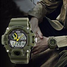Men's Digital Analog G Style Sport Waterproof SHOCK Military Army Wrist Watch