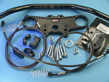 ABM Superbike Lenker Umbau - Kit  für SUZUKI GSX 1300 R Hayabusa ab Bj.'08 WVCK