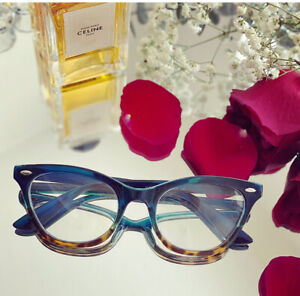 "Cat Eye Demi ""BABY BAN"" Ombre BAMBI TORTOISE Eyeglasses Shadz GAFAS"
