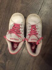 K-Swiss girls shoes white and pink size 10