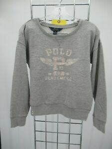 I9308 VTG Polo Ralph Lauren Crew Neck Pullover Sweatshirt Size XL (16)