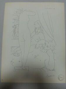 Pablo Picasso, Lithograph 1956, Rare