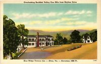 Vintage Postcard - Blue Ridge Terrace Inn Afton Virginia VA Un-Posted #1890