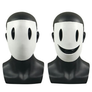 Smile Mask Cosplay Sniper High Rise Invasion Tenku Shinpan Halloween Mask