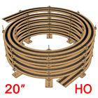 "20"" HO Scale Single/Double Track Helix For Radius 18"" and Radius 22"" Tracks"