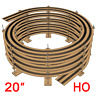 "20"" HO Scale Single/Double Track Helix For Radius 18"" and Radius 22"" Tracks"