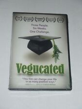 DVD VEGUCATED Three People - Six Weeks - One Challenge Documentary 2012 NEW