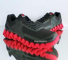 REEBOK Zig Evolution Men's Running Shoes Black/Excellent Red sz 12 BD5562