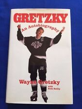 GRETZKY. AN AUTOBIOGRAPHY - FIRST EDITION INSCRIBED BY WAYNE GRETZKY