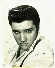 Elvis Presley Vintage Signed 8x10 Photo Autographed REPRINT