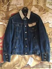 WORN ONCE VIVIENNE WESTWOOD ANGLOMANIA LEE DENIM JACKET CHECK LINED SIZE XL